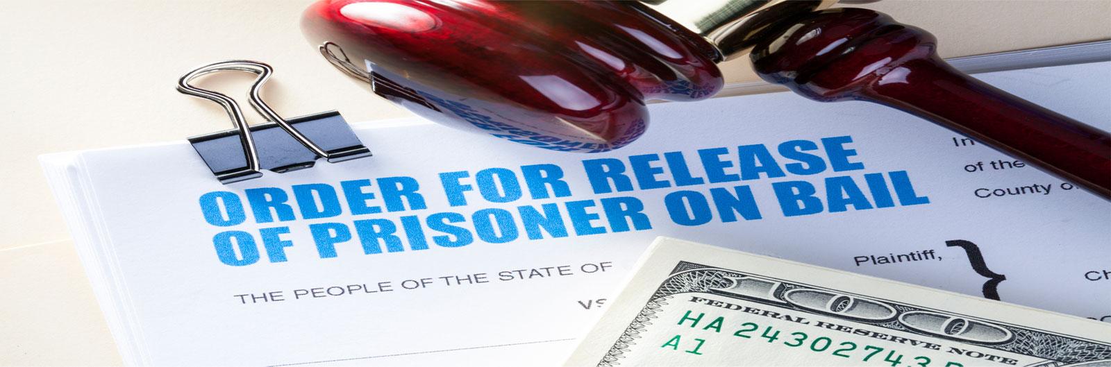order for release of prisoner on bail